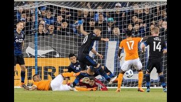 Hyka's late goal lifts Earthquakes to 2-2 tie with Dynamo