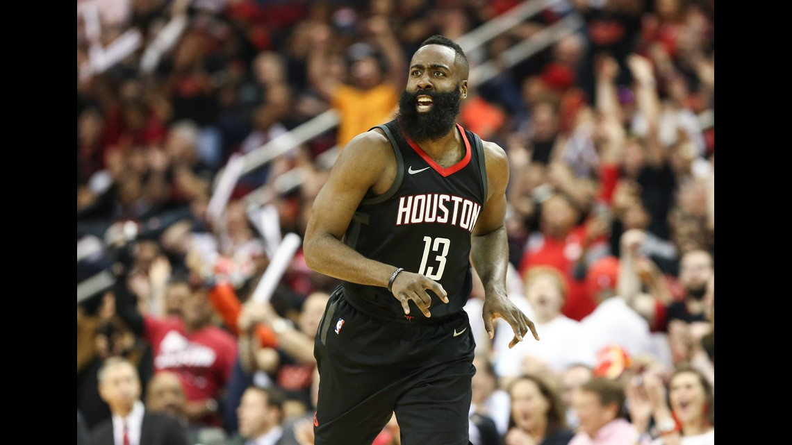 bf00f0aa8488 Top 11 James Harden photos from Game 1