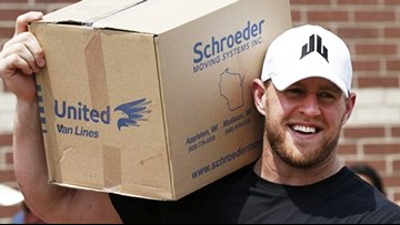 J.J. Watt's Harvey fund has helped rebuild 1,183 homes and serve 239 million meals