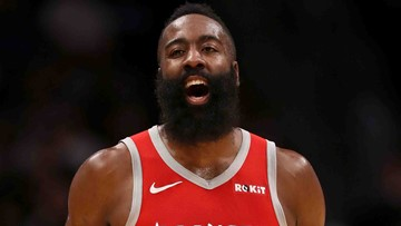 Harden's 57 points lead Rockets over Grizzlies 112-94