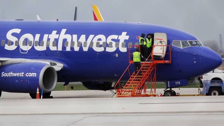 Southwest Airlines sends cheques and travel vouchers to passengers on fatal flight