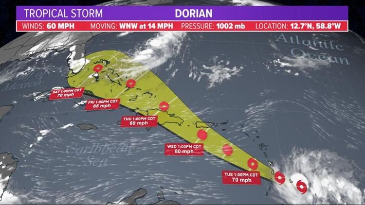 dorian update 8-26-19 4p