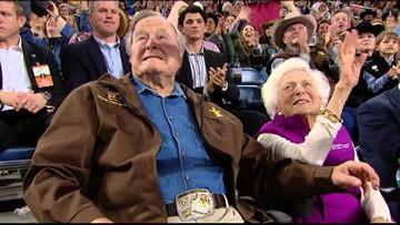 LIGHTER MOMENT: The pen pal, the heifer and Barbara Bush
