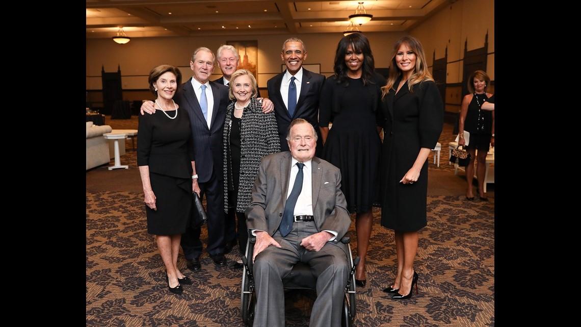 Barbara Bush Gravesite Opens To The Public For The First Time Khou Com