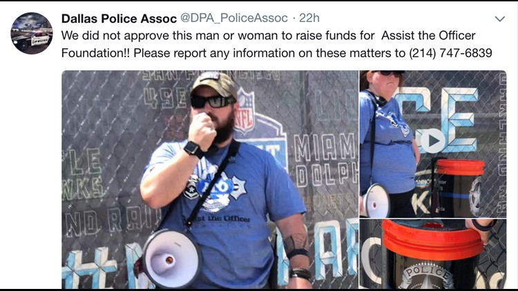 DPA: be careful of donation scams for slain Dallas PD officer