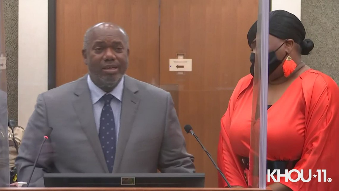 George Floyd's brother, Terrence, gives victim impact statement at Derek Chauvin sentencing