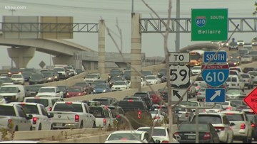 REMINDER: Major Galleria ramp closed for your Monday commute