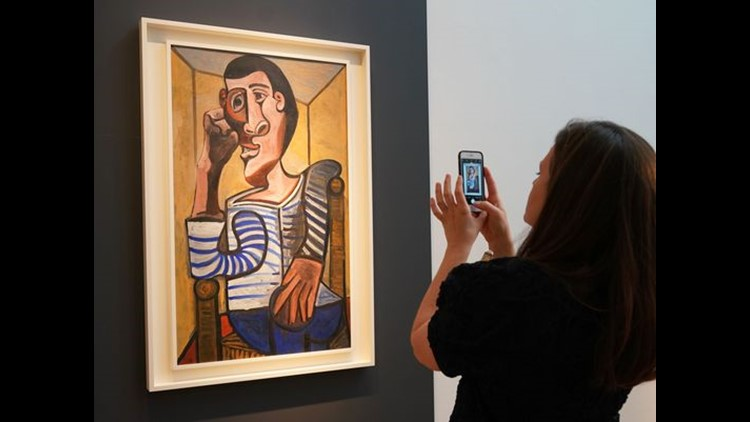 Another Picasso owned by Steve Wynn damaged