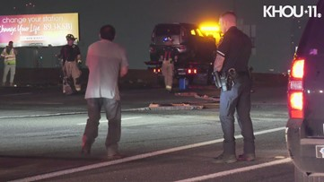 Suspected drunken driver arrested after crash on Southwest Freeway