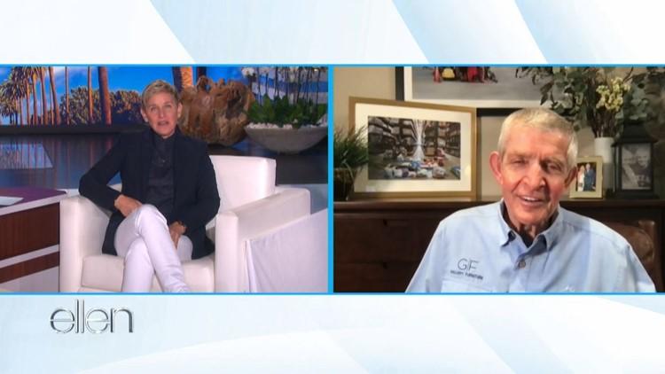 Mattress Mack honored as 'American hero' on 'The Ellen Show'