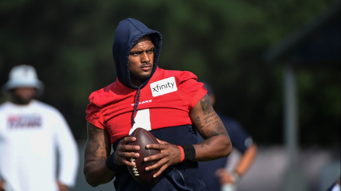 Deshaun Watson remains with Texans as team trims roster down to 53