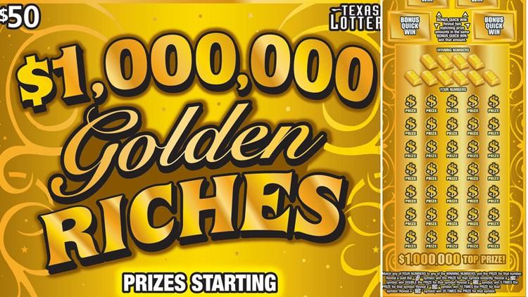 Houston resident claims $1 million winning Texas Lottery scratch-off ticket