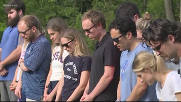 Bush grandkids honor grandparents in College Station