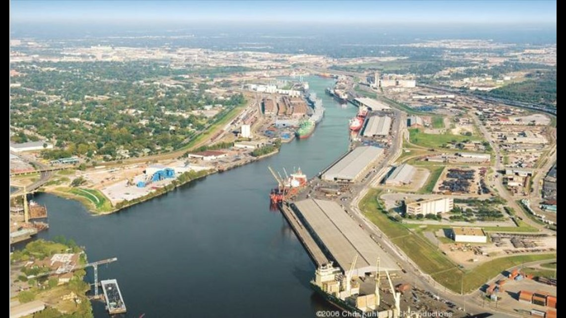 1b construction project to replace houston ship channel