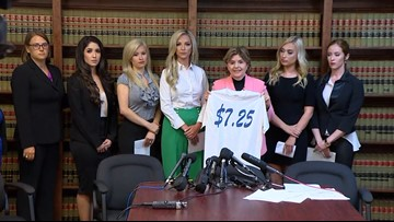 Former Texans Cheerleaders, attorney urging change and fairness for NFL cheerleaders