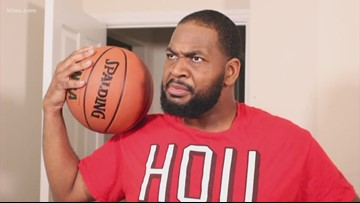 That's So Houston! Chinedu on Rockets Game 1 win over Jazz