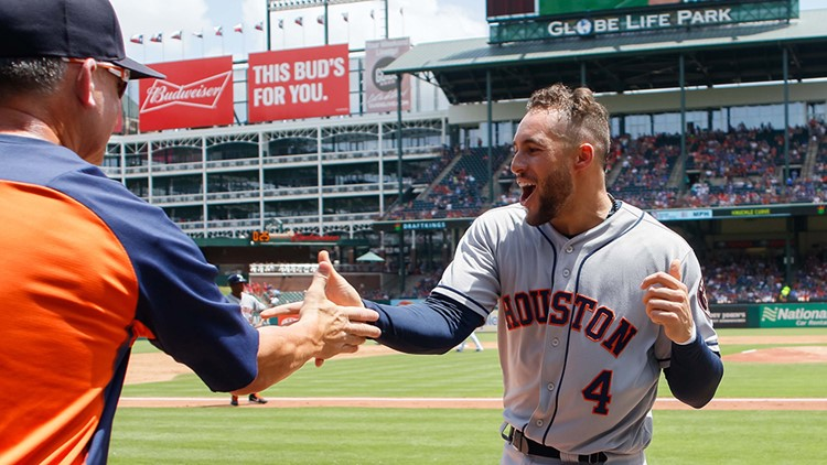 Texas closer Keone Kela had already thrown a pitch to Evan Gattis with two outs when Astros manager A.J. Hinch came out of the dugout apparently to question whether Kela had balked. After a brief conversation among the four umpires, Springer was awarded home for what was ultimately the game-winning run.