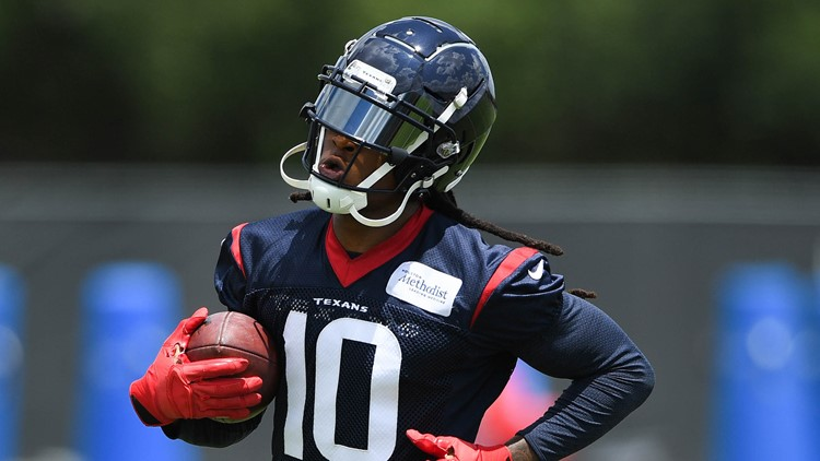 Texans coach Bill O'Brien angrily brushed aside any allegation that star wide receiver DeAndre Hopkins was carted off during Wednesday's practice session.