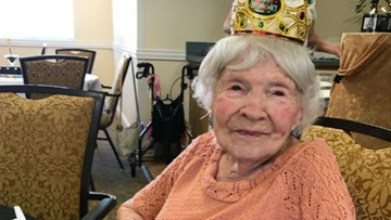 Meet Helen: She's 105 and credits drinking, smoking for her longevity
