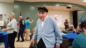 La Porte honors Navy veteran on his 100th birthday
