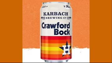 Karbach's Astros-themed Crawford Bock now available in stores