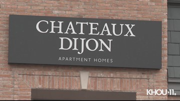 Raw video: Galleria-area apartment worker shot after interrupting burglary
