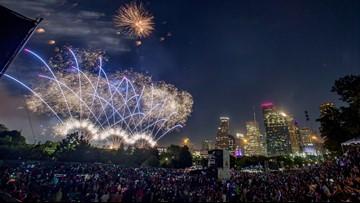 Where to celebrate 4th of July: Fireworks in and around Houston