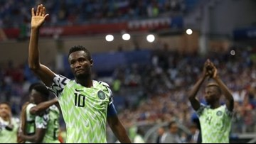 Nigeria captain's dad kidnapped during World Cup