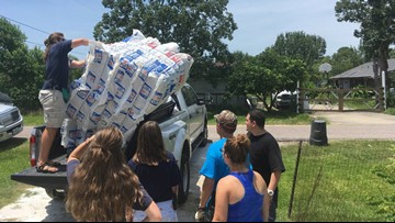 Teens from around U.S. repair Harvey-damaged homes in Brazoria County