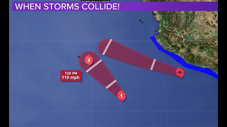 David Paul's Blog: Hurricane 'John' and Tropical Storm 'Ileana' are on a collision course. So what happens next?