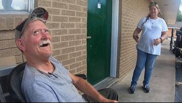 Community helps Alvin veteran stuck in dangerous home since Harvey