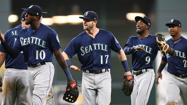 The third-place Mariners pulled within four games of Houston.