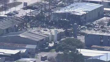 Video: Scene of Houston explosion