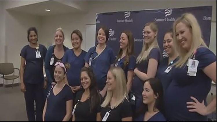 Arizona Hospital Staff Has 16 Pregnant Nurses At Once