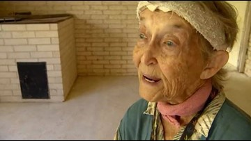 Community comes together to help 83-year-old woman rebuild her Harvey damaged home