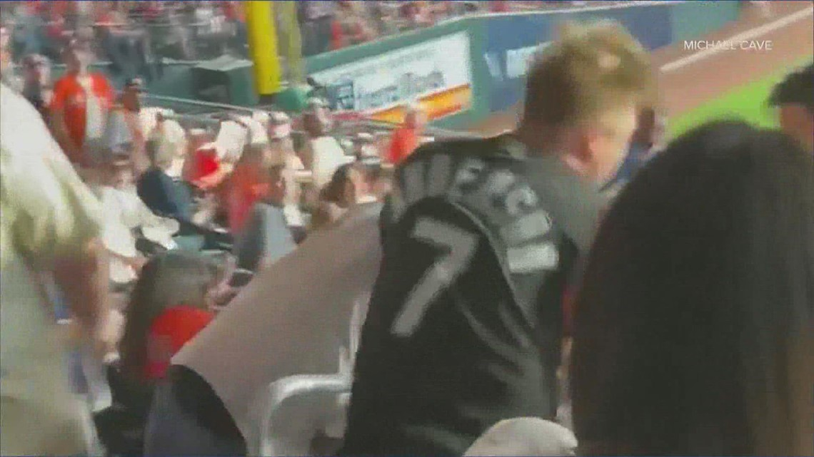 Caught on camera: White Sox fan sucker-punched at Minute Maid Park