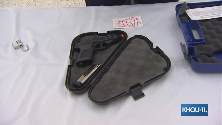 How to pack a firearm in a checked bag