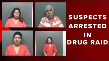 Four suspects arrested after several San Jacinto Co  Jail