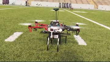 Rice University researchers develop drones that detect chemical in the air