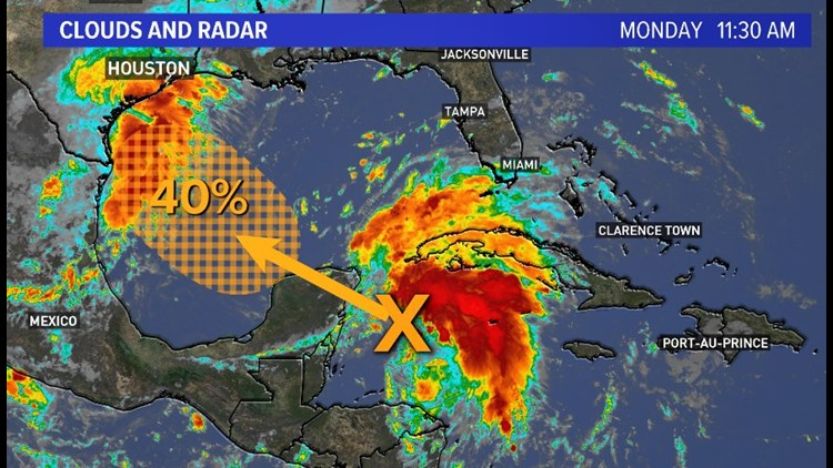 GULF WATCH: Chances for tropical disturbance to develop back up to 70%
