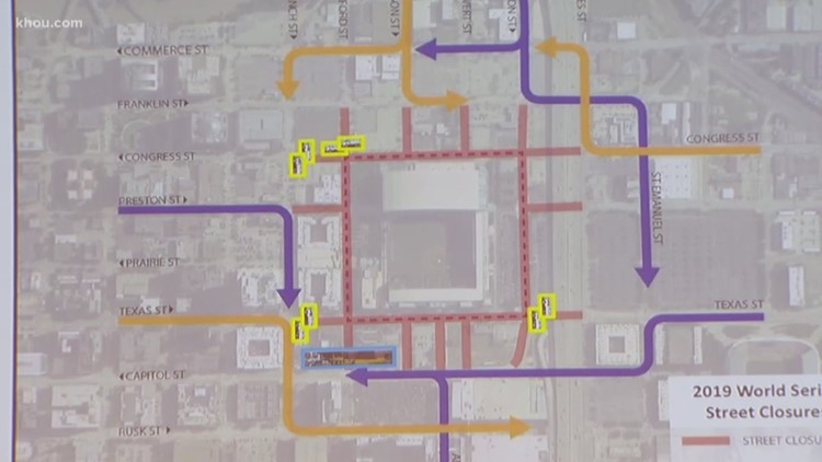 City officials announce street closures, safety plan ahead of World Series