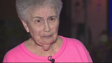 Who does this? Houston great-grandma's Christmas decorations stolen for 3rd time