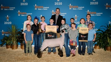 Houston Livestock Show to hosts online auctions to support 2020 junior exhibitors