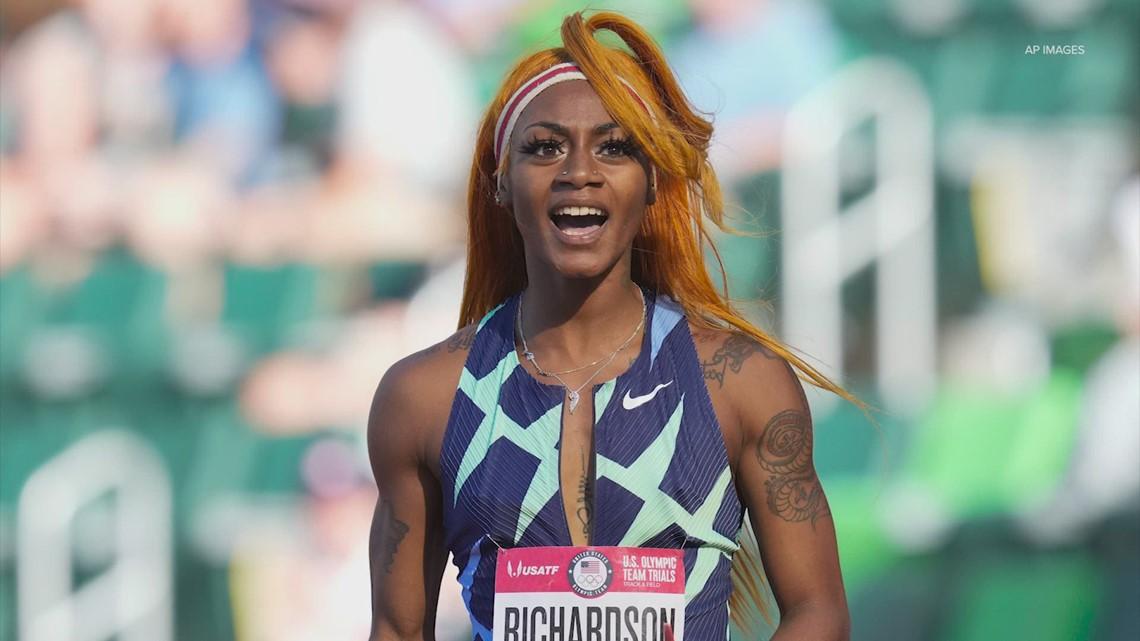 Houston track & field community reacts to Sha'Carri Richardson suspension