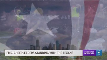 Former cheerleaders standing with Texans amid lawsuits