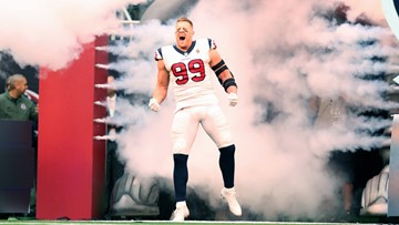 J.J. Watt named AFC Defensive Player of the Month, tied for most by a defender