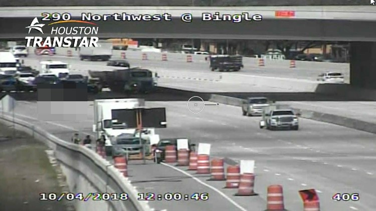 Highway 290 Reopened After Man Jumps From Bridge Gets Fatally Hit By Truck