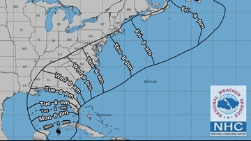 Watches issued for Gulf Coast as Michael strengthens into hurricane