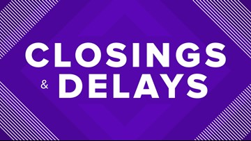 Huntsville ISD on 2-hour delayed start Tuesday due to
