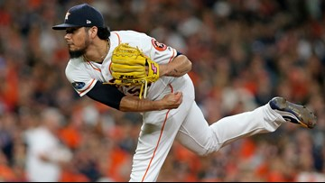 Photos: Astros fall to Red Sox 8-2 in ALCS Game 3 | khou com